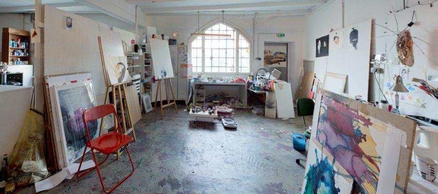 Atelier für Künsterinnen und Künstler und Kreative einfach mieten in der KUFA