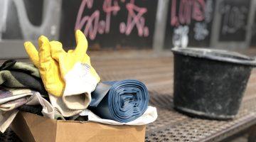 Frühjahrsputz 2019: Die Stadt Hildesheim und die KUFA räumen auf.