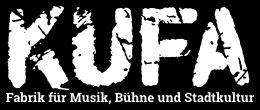 KUFA, Kulturfabrik Löseke, Hildesheim, Logo, Download, JPG, PNG, weiß