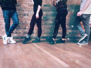 DNB Step Academy, tanzen lernen zu 175 bpm