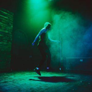 Janine Gottsknecht: Fit und fröhlich dank DnB Step Tanz