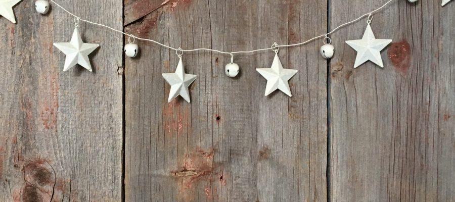 Bretter Wand Sterne