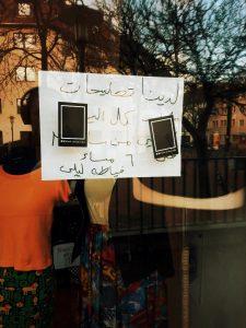 No Stickers! Keine Sticker an Fensterscheiben oder Spiegel kleben. KUFA Faserwerk