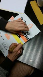 schneiden, zeichnen, kleben – Buchbinden Workshop im Faserwerk