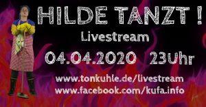 Hilde tanzt Hildesheim Livestream Veranstaltung Banner zu Werbezwecken