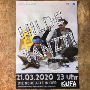 Hilde tanzt Plakat KUFA März 2020