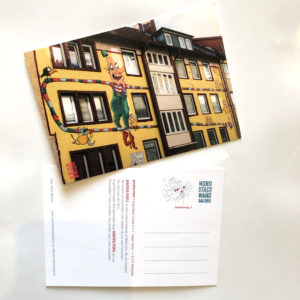 Nordstadt-Wandgalerie Postkarte Beautiful People Kasper