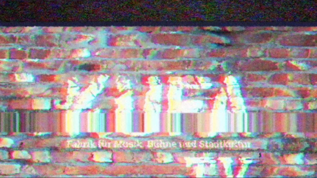 KUFA TV Fernsehen Sendung Folge Digital Kultur Serie Kulturfabrik Löseke Mauer Rauschen Bildrauschen Bild Fernsehbild Bildstörung Ameisenkrieg Krisseln Testbild