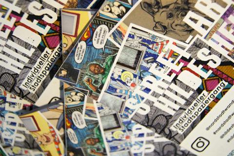 Street Art, Flyer, Nordstadt-Wandgalerie, Hildesheim Marketing, Urban Art, Grafitti, Stadtspaziergang, hildesheimverliebt, Kulturfabrik Löseke, KUFA, Hildesheim, Stadtkultur, Freizeit, Ferienzeit