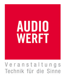 Audiowerft, Audio, Veranstaltungstechnik, Technik, Hildesheim, Veranstaltungsbranche, Logo, Förderer, Kulturfabrik Löseke