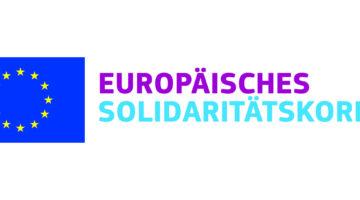 ESK European Solidarity Corps Europäisch denken lokal handeln KUFA Kulturfabrik Löseke Logo EU